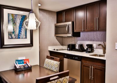 Full Kitchens in All Suites